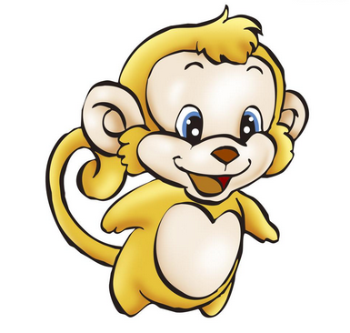 幼儿简笔画小猴子幼儿简笔画动物猴子猴子简笔画