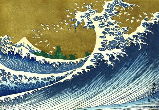 浮世绘海浪那图的名字是什么