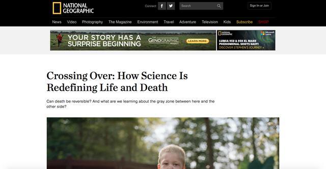 死亡能否逆转?在阴阳两界之间我们能看到什么?科学重新定义生死