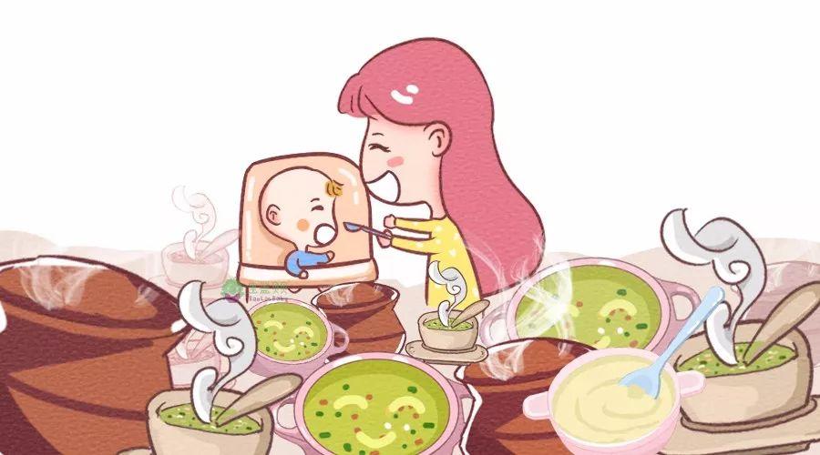 给宝宝喝汤,这些错误可别犯!